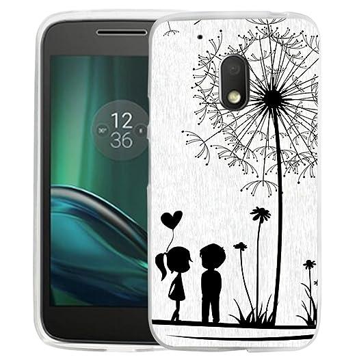 1 opinioni per Dooki, Moto G4/G4 Plus cellulare, morbida in silicone TPU schützend telefono