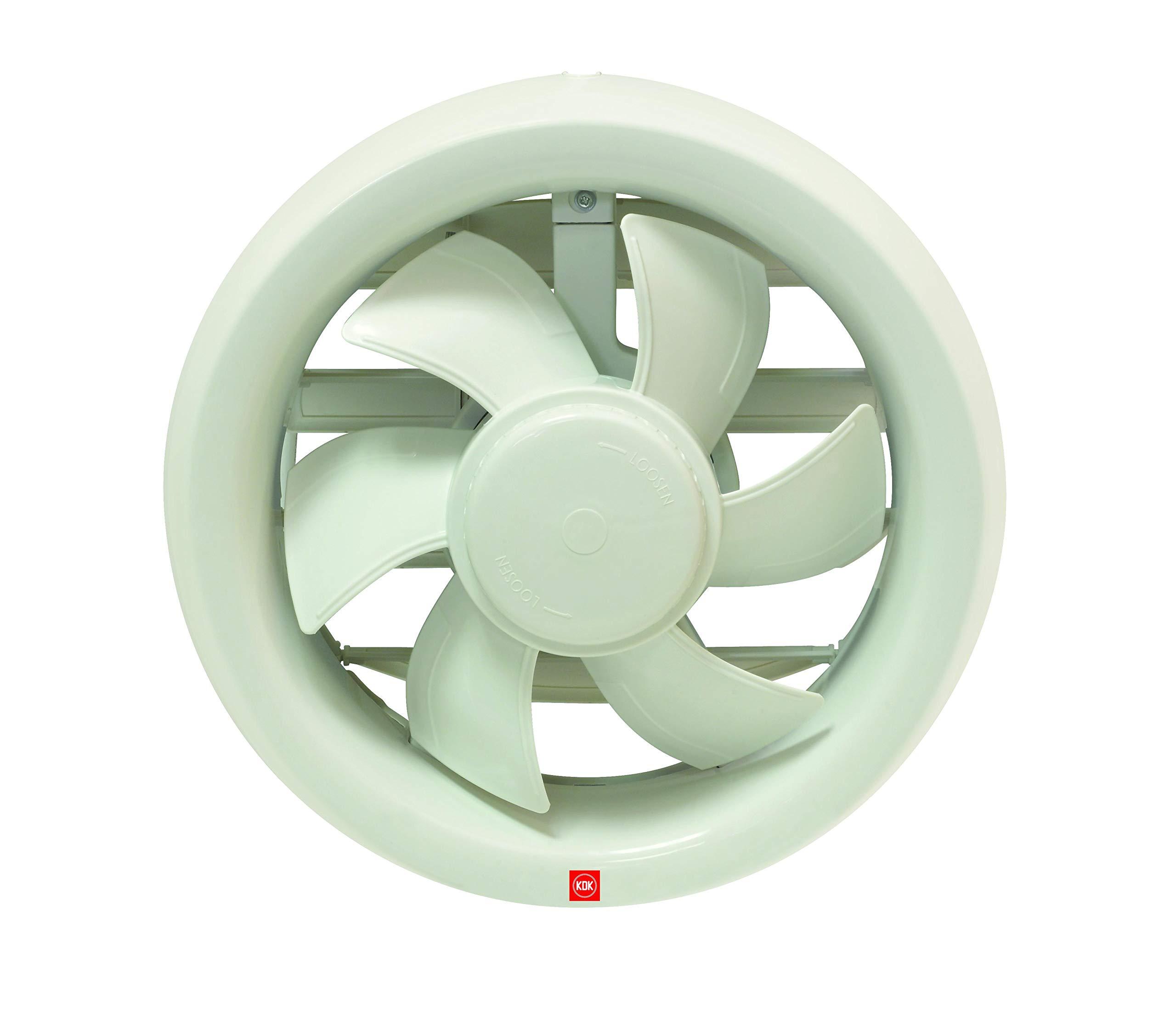 Kdk Window Mount Exhaust Fan (6 Inch Diameter)