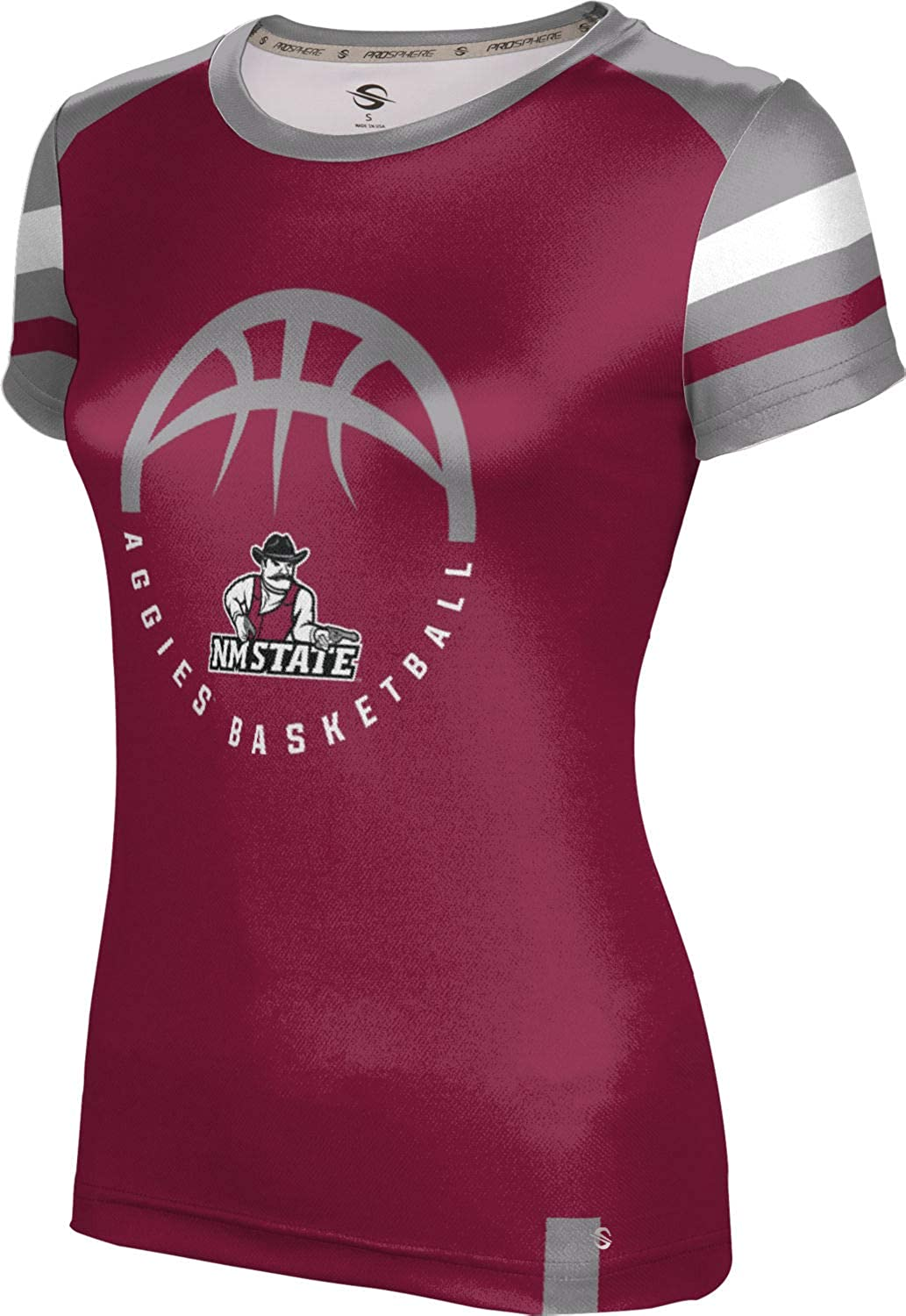 ProSphere New Mexico State University Basketball Girls Performance T-Shirt Old School