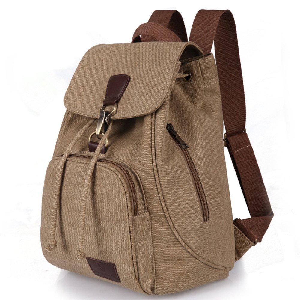 FOLLOWUS Vintage Women's Canvas Backpack School Bags Casual Daypacks G70056C