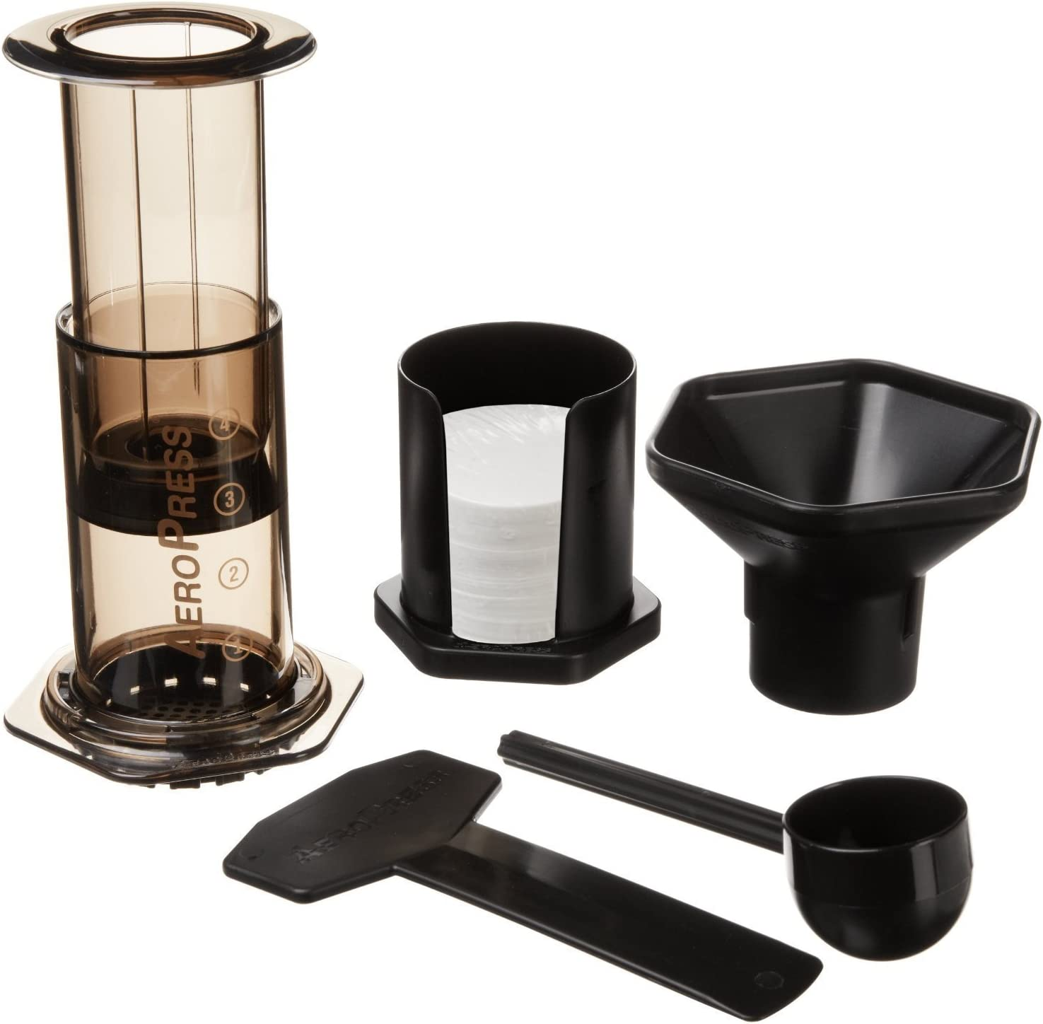 Aeropress coffee kit for travelleres
