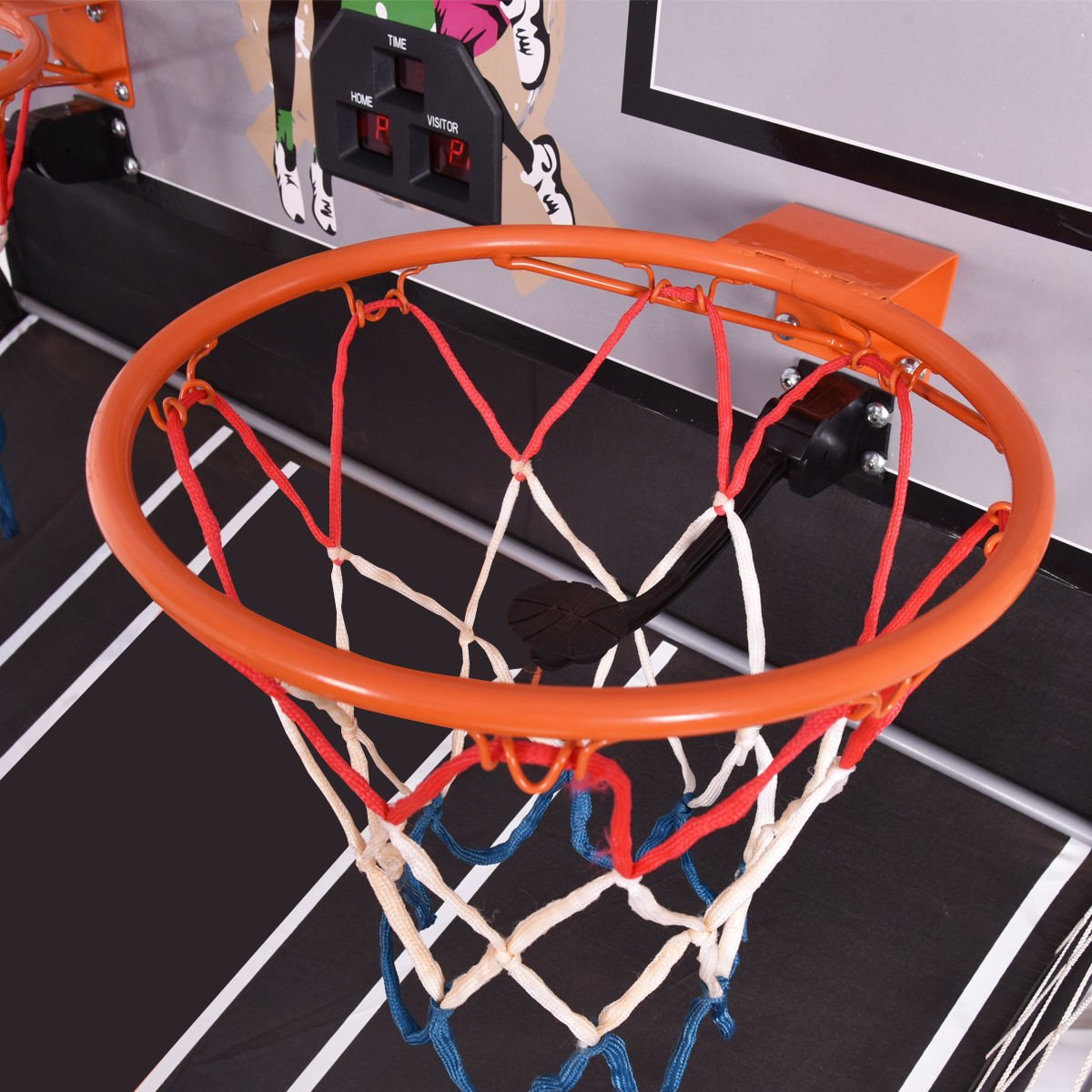 Eight24hours Indoor Basketball Arcade Game Double Electronic Hoops shot 2 Player 4 Balls + FREE E - Book by Eight24hours (Image #4)