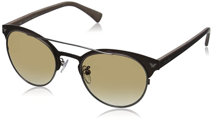Police S8950, Gafas de Sol para Hombre, Marrón (SH. Antiq.W ...