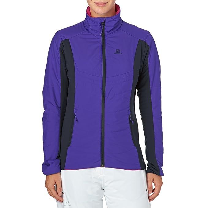 Salomon Damen Outdoor Jacke Drifter Mid Outdoorjacke: Amazon