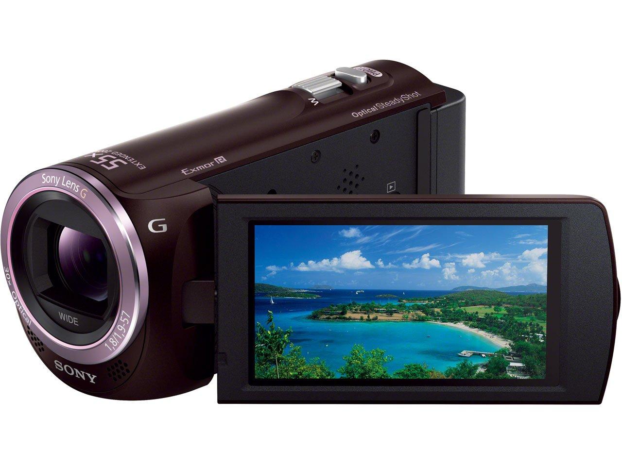 SONY デジタルHDビデオカメラレコーダー「HDR-CX390」(ボルドーブラウン) HDR-CX390-T   B00B06ESQA