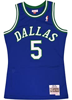 Mitchell & Ness Dallas Mavericks Jason Kidd Swingman Jersey NBA Throwback Blue