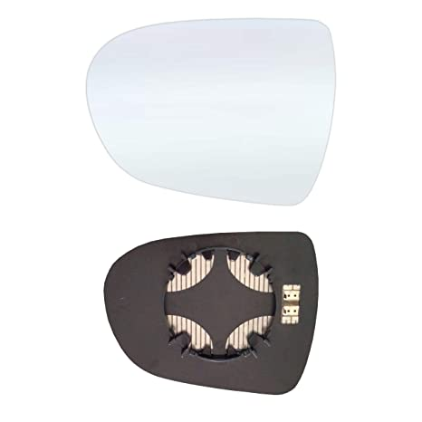 Retrovisor Izquierdo Espejo de cristal con placa y calefacción # hii4011 AM LCH