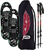 REDFEATHER MEN'S HIKE SNOWSHOES KIT