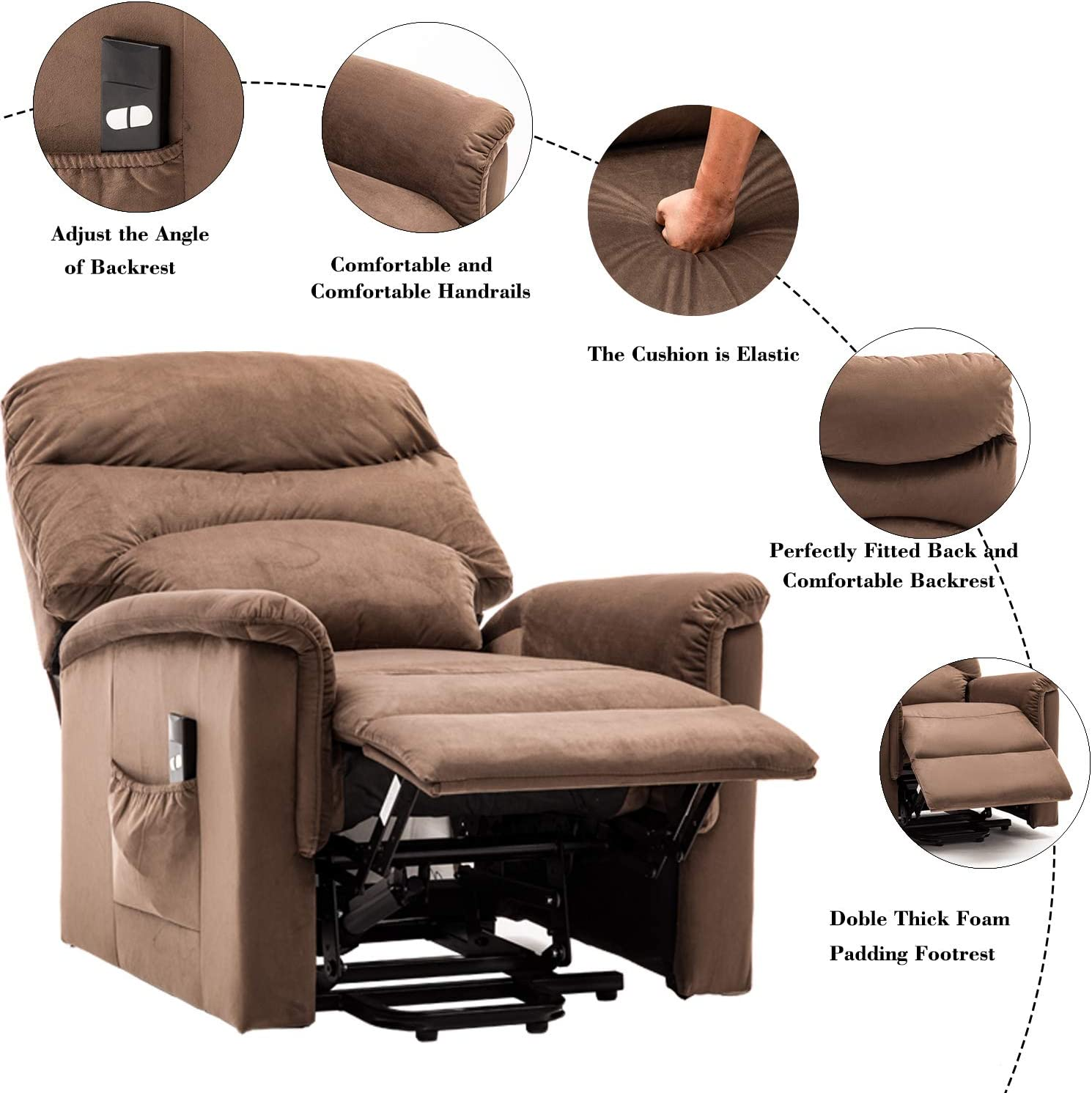 Bonzy Home Futon Sofa Bed Sofa CBonzy Home Futon Sofa Bed Brown PU Leather Futon Couch