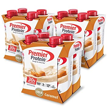 Amazon Com Premier Protein 30g Protein Shake Caramel 12 Count