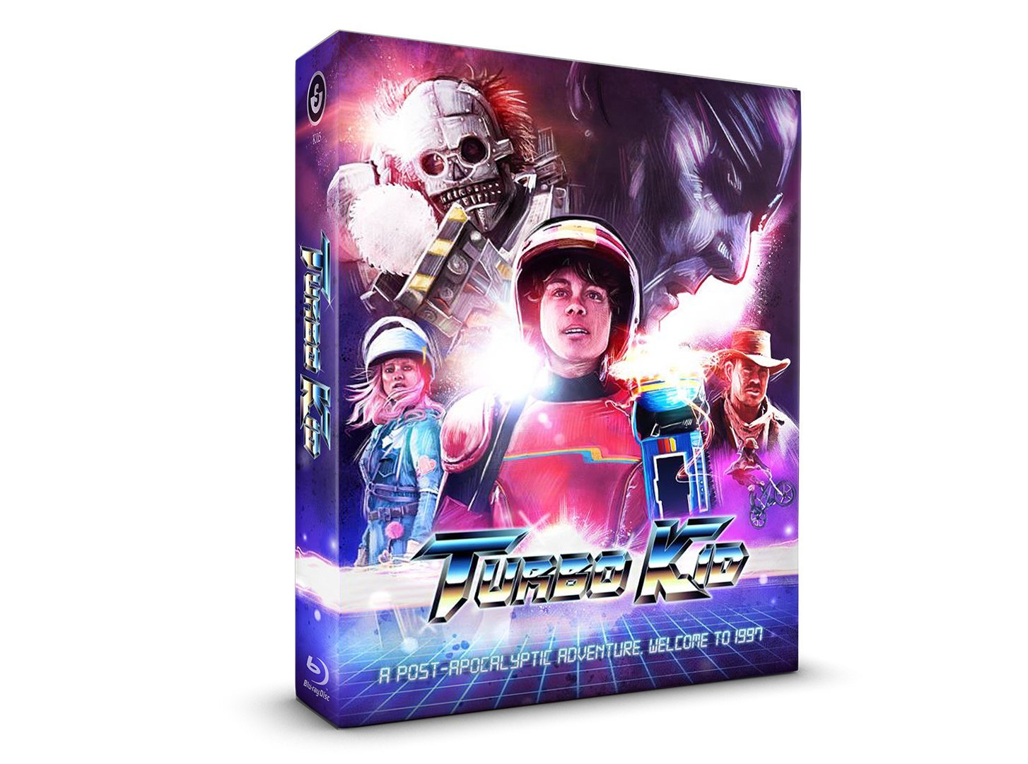 Turbo Kid Full Slip Limited Edition Alemania Blu-ray: Amazon.es: Munro Chambers, Laurence Leboeuf, Michael Ironside, Francois Simard, Anouk Whissell, ...