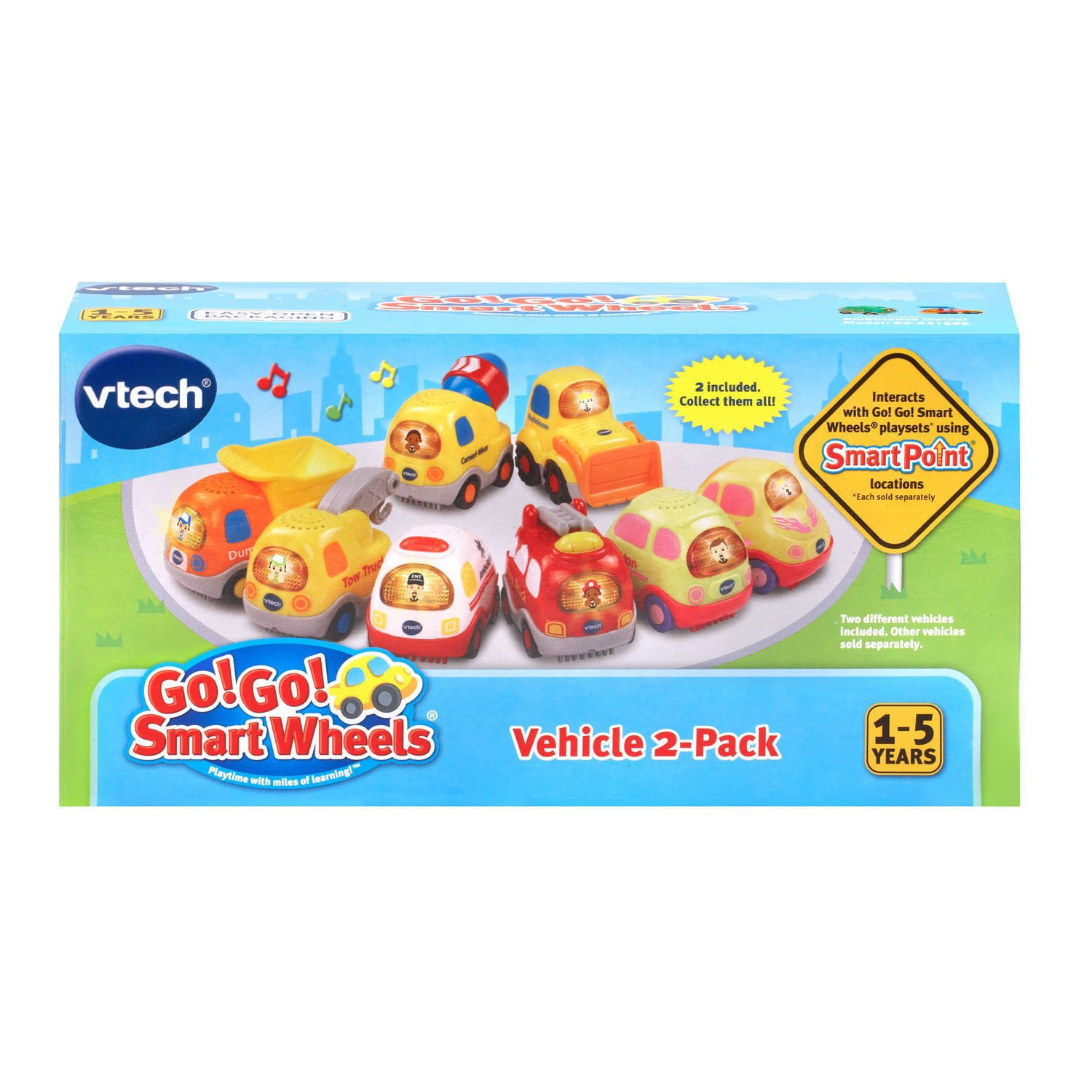 VTech Go! Go! Smart Wheels Garbage Truck and Excavator by VTech (Image #7)