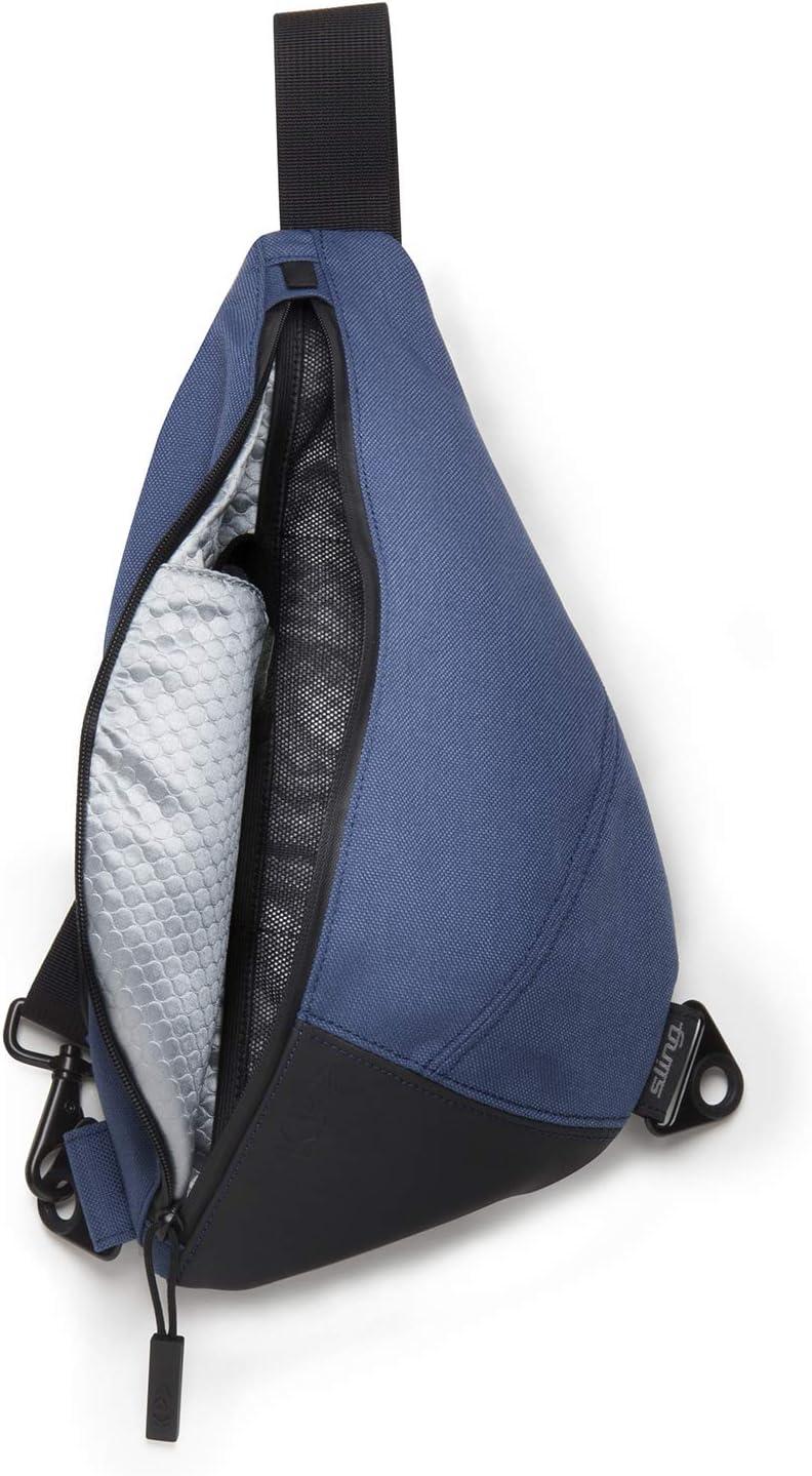 KP Multipurpose Everyday Waterproof Adventure Sling Hiking Bag. Outdoor Shoulder Travel Crossbody Weather proof Backpack for Men and Women (BLUE)