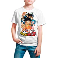 Camiseta Niño Unisex Manga y Anime - Dragon Ball, Bola de Dragón