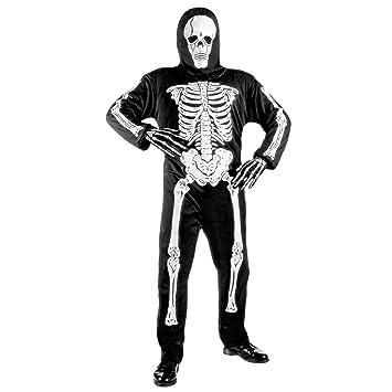WIDMANN Widman - Disfraz de esqueleto de halloween para niño ...