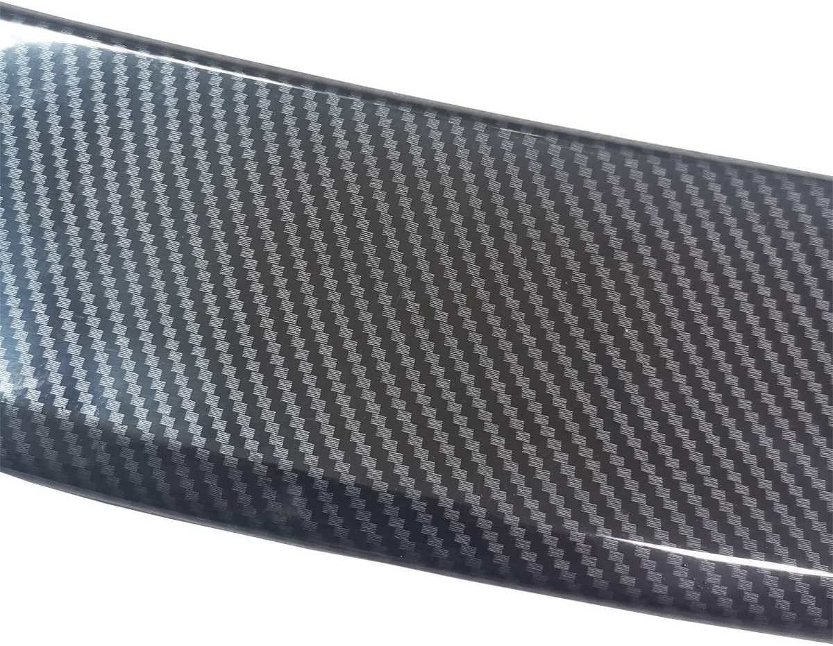 Silver Psler Car Rear Trunk Wing Spoiler Cover Trim for CHR 2018