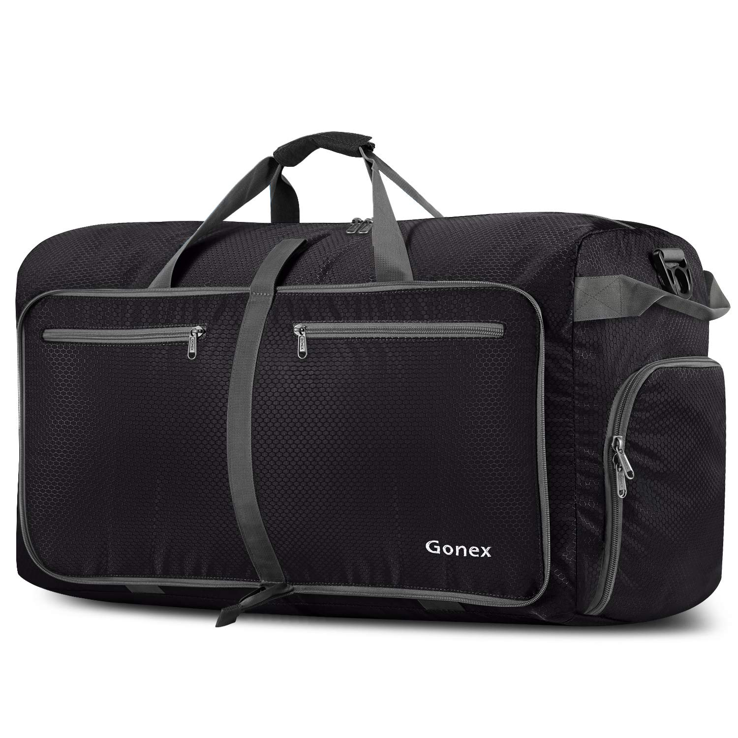 Amazon.com  Gonex 100L Packable Travel Duffle Bag, Extra Large Luggage  Duffel (Black)  Sports   Outdoors 4c8314d711