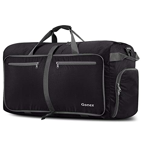 Gonex 100L Packable Travel Duffle Bag, Extra Large Luggage Duffel (Black) c4ac315378