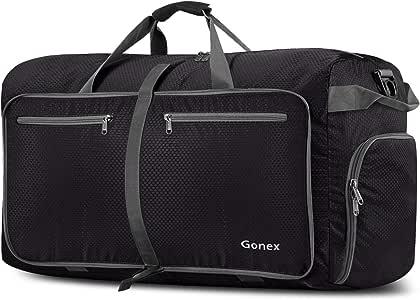 Gonex Unisex-Adult 100L Travel Duffel Bag, Black, 100L