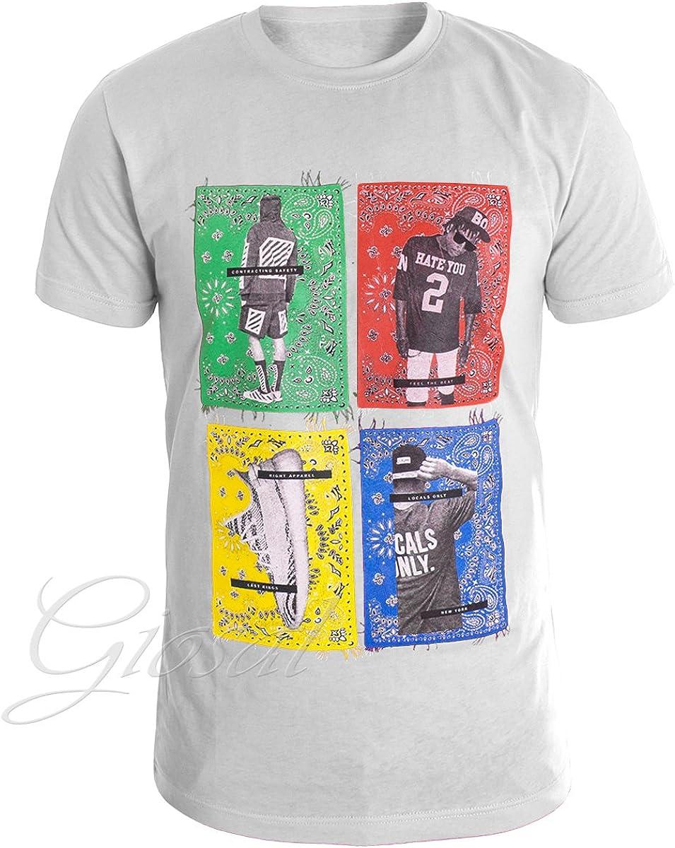 Giosal T Shirt Uomo Stampa Still Alive Vari Colori Disegni