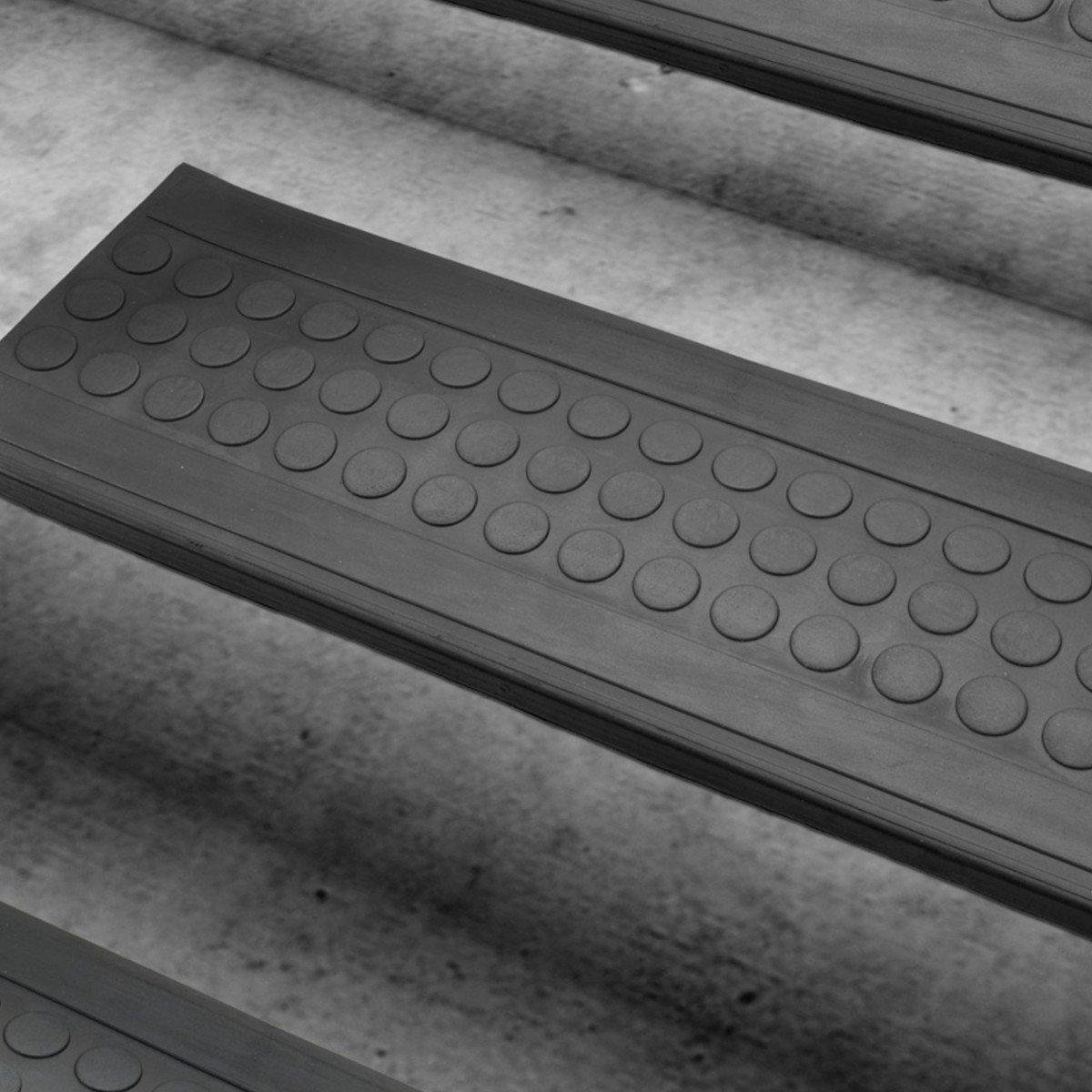 set de marchettes descalier casa pura antidrapantes en caoutchouc noir autocollantes et rsistantes usage lintrieur et extrieur 25x75cm 10 - Antiderapant Escalier Exterieur