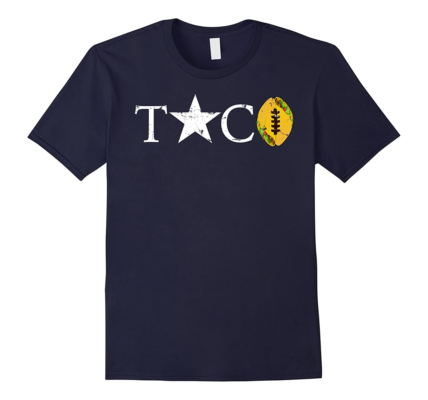 Epic Taco Football Star T-Shirt, Vintage-T-Shirt