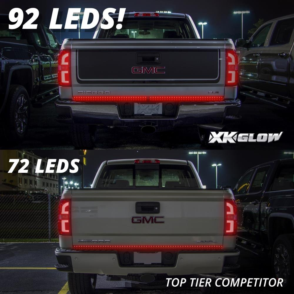 Led Wiring Guide Dodge P U 60 Waterproof 5 Function 92 Strip Tailgate Bar Brake Reverse Running Turn Signal Light Truck Suv For Ford F150 Chevy Silverado Gmc Sierra