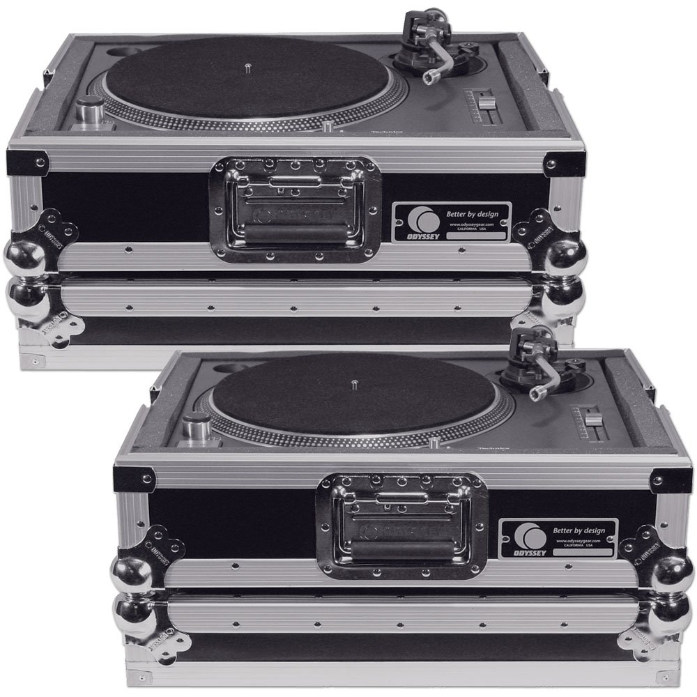 Odyssey Dj Sl1200 Turntable Case Twin Pack 4308893265