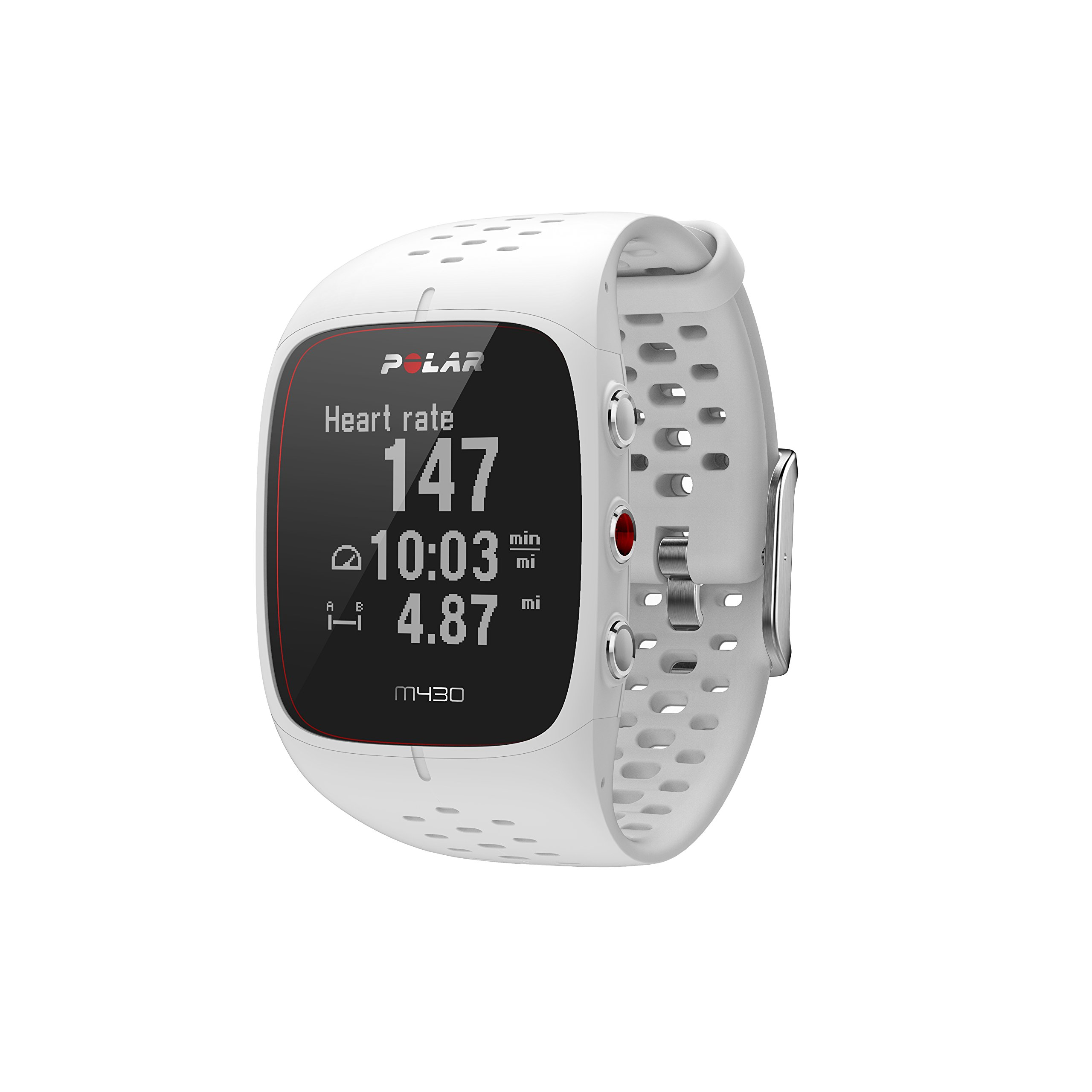 Polar M430 GPS Running Watch White, Small by Polar