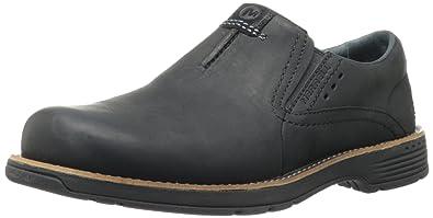 Merrell Men's Realm Moc Slip-On Shoe,Black,7.5 ...