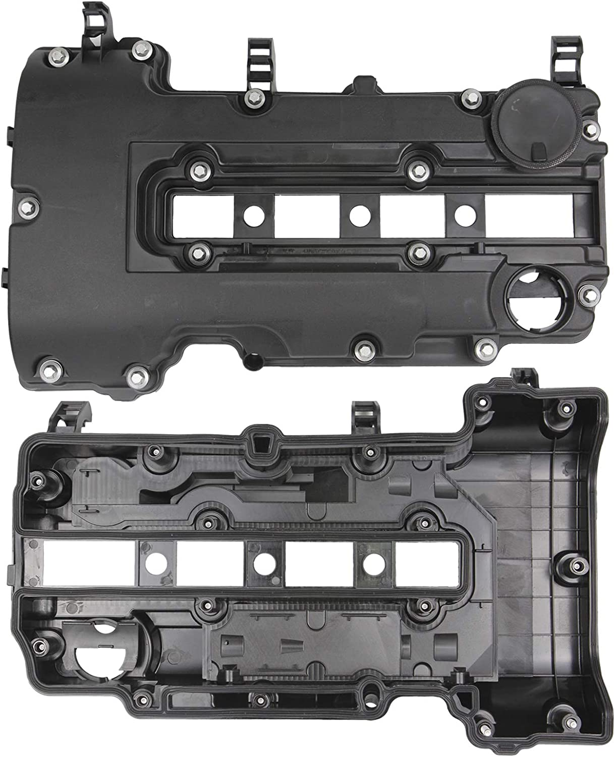 55573746 Engine Valve Cover Kit with Gaskets /& Bolts Compatible with 2011-2020 Chevrolet Chevy Cruze Sonic Volt Trax Buick Encore Cadillac ELR 1.4L L4 Turbo Replace#55573746 264-968 25198498