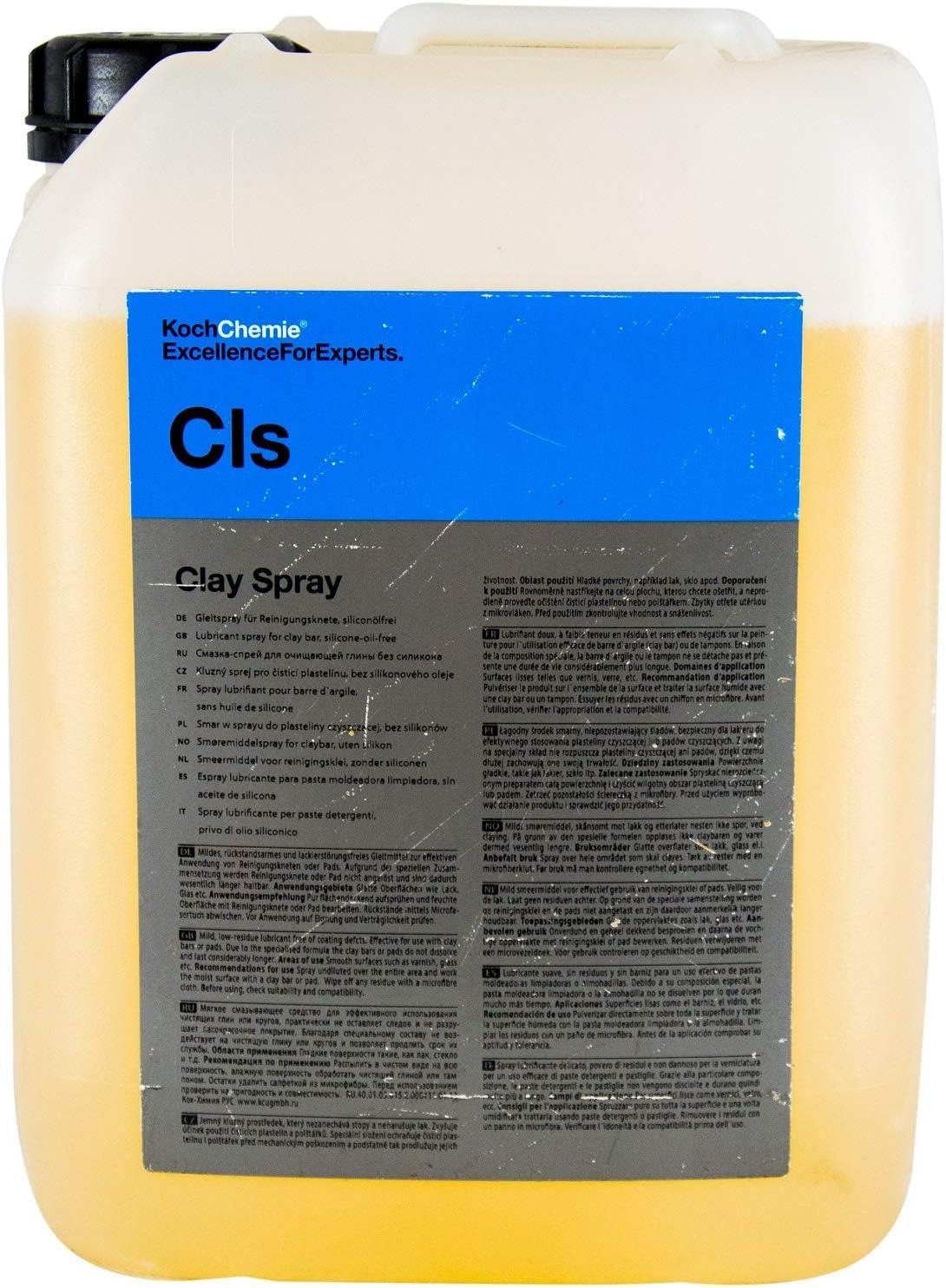 Koch Chemie Cls Clay Spray Gleitspray Für Reinigungsknete Siliconölfrei 10 Liter Auto