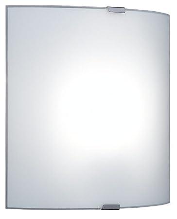 EGLO Wandleuchte Grafik Silber/ Weiss | 60W | 84028