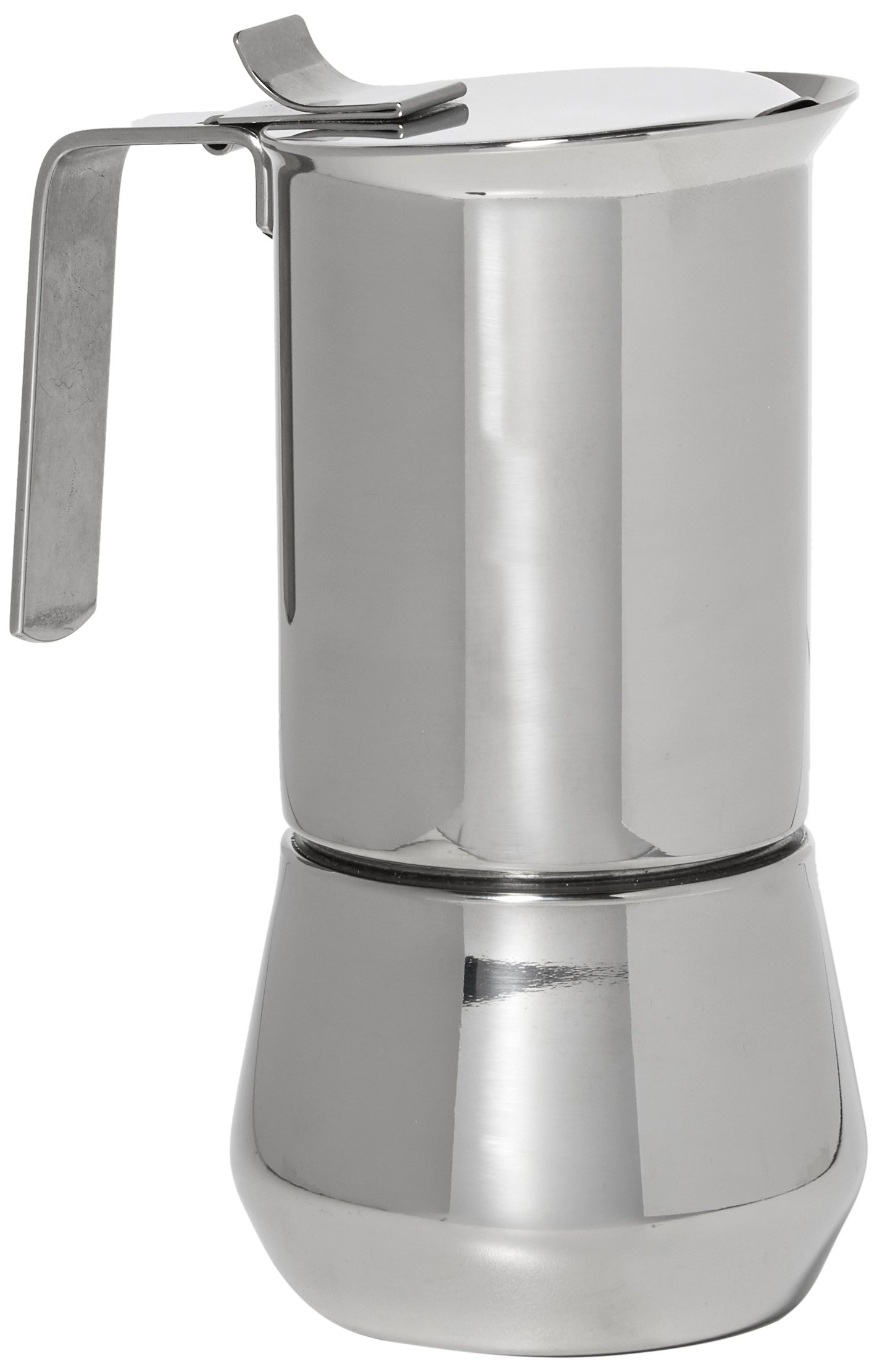 ILSA 122-3, Stainless Steel Stove-Top Espresso Maker, 3- cup by Ilsa