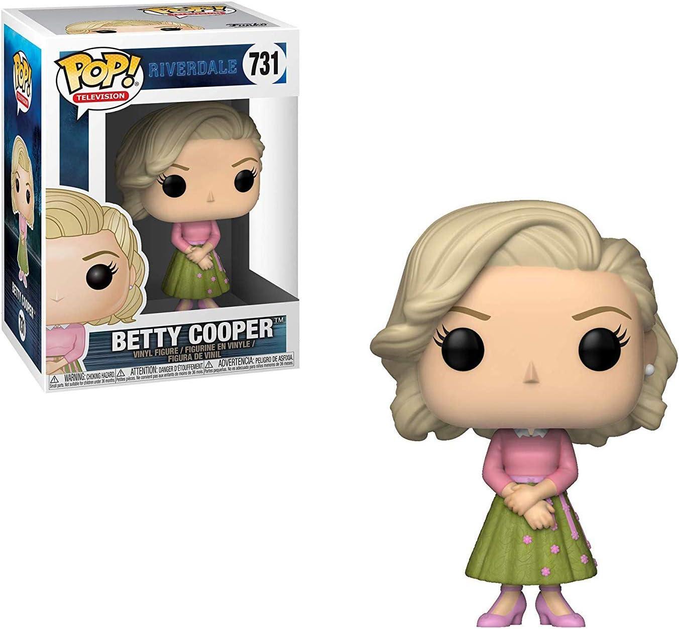 Funko Betty Cooper: Riverdale x POP! Figura de vinilo de TV y 1 protector gráfico de plástico PET [#731 / 34457 - B]: Amazon.es: Juguetes y juegos