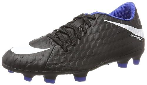 Nike Hypervenom Phade III Fg Scarpe da Calcio Uomo Nero