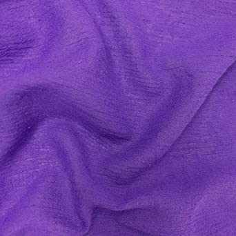 M Lavender Sheer Crinkly Material 30/' x 25 wide Free Shipping