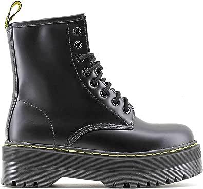 Modelisa - Botas Militares para Mujer: Amazon.es: Zapatos y ...