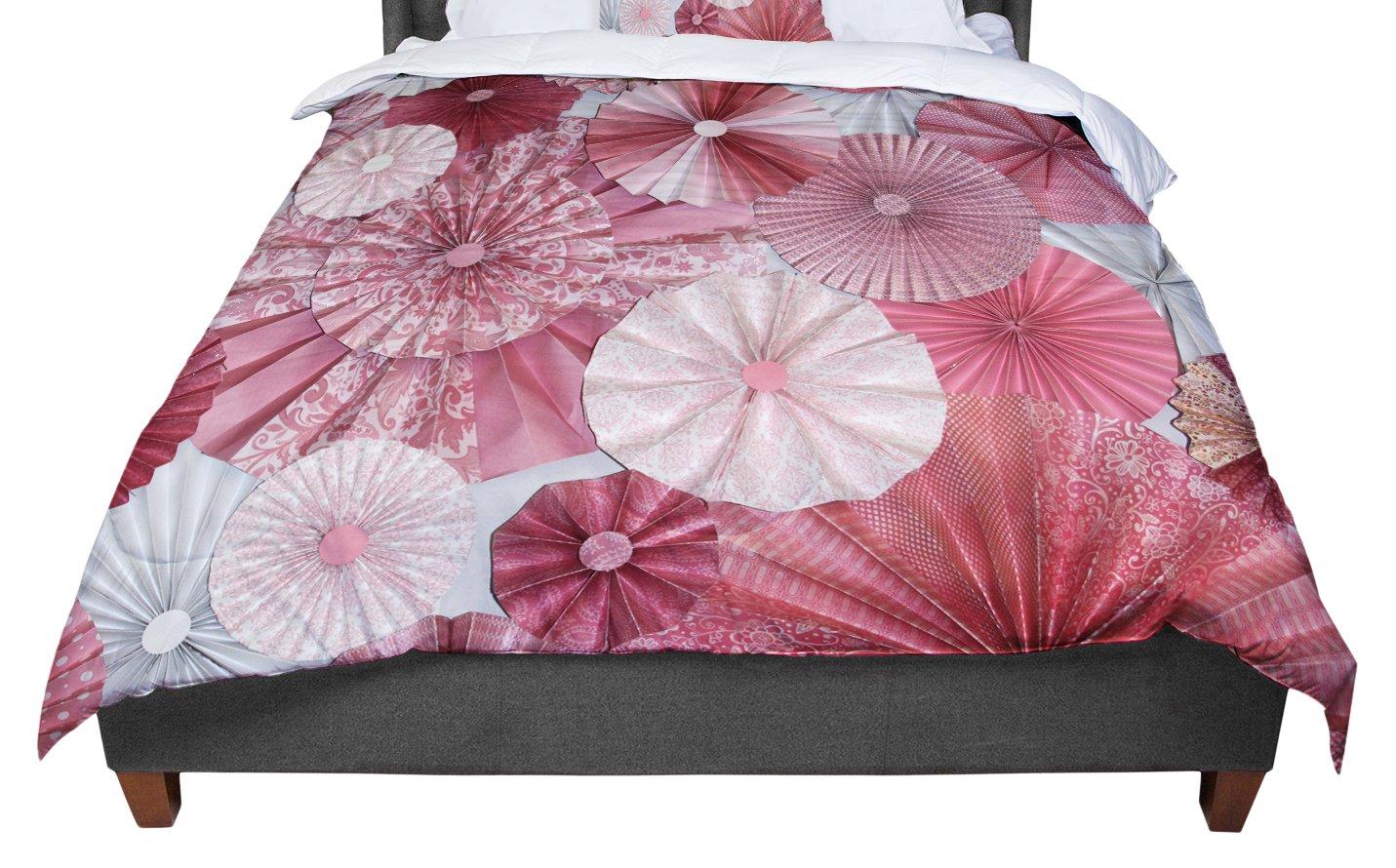 KESS InHouse Heidi Jennings Lovesick Pink Twin Comforter 68 X 88