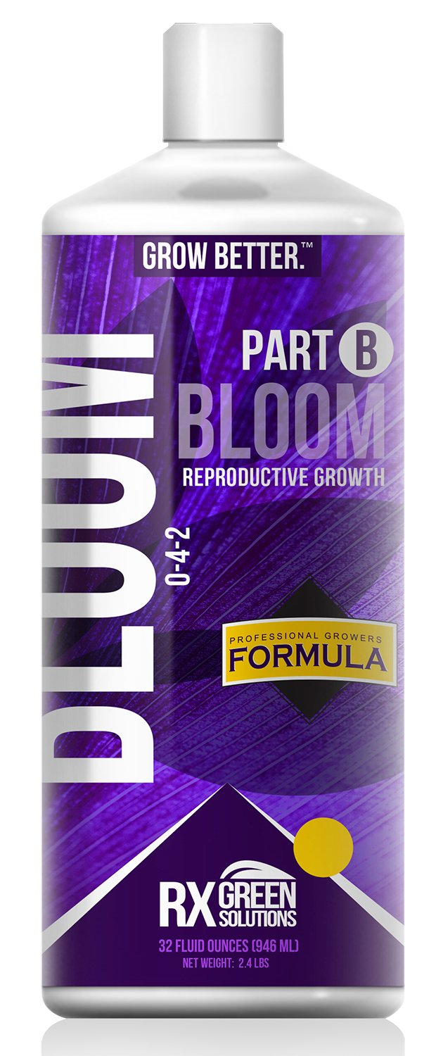 Rx Green Solutions Part B Bloom Reproductive Growth, 32-Ounce