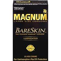 Trojan Magnum Bareskin Lubricated Large Size Condoms