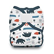 Thirsties Duo Wrap Cloth Diaper Cover, Hook and Loop Closure, Adventure Trail Size One (6-18 lbs)