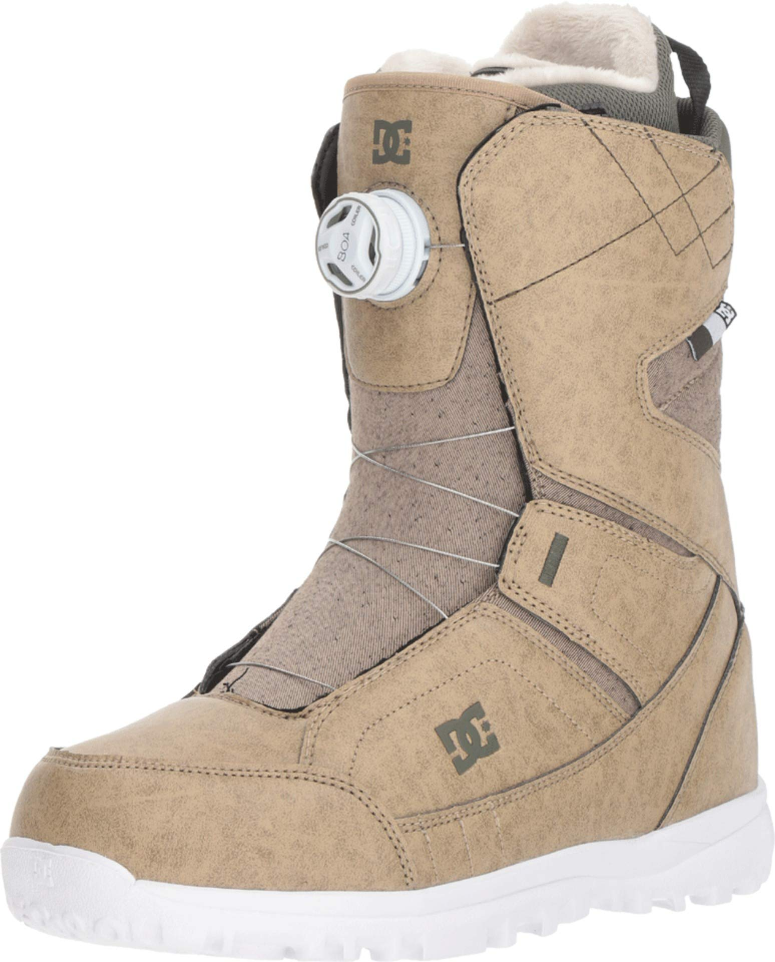 DC Search BOA Snowboard Boots Incense Womens Sz 8.5 by DC