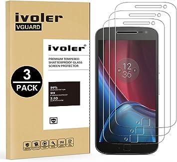 ivoler [3 Unidades] Protector de Pantalla para Lenovo Motorola ...