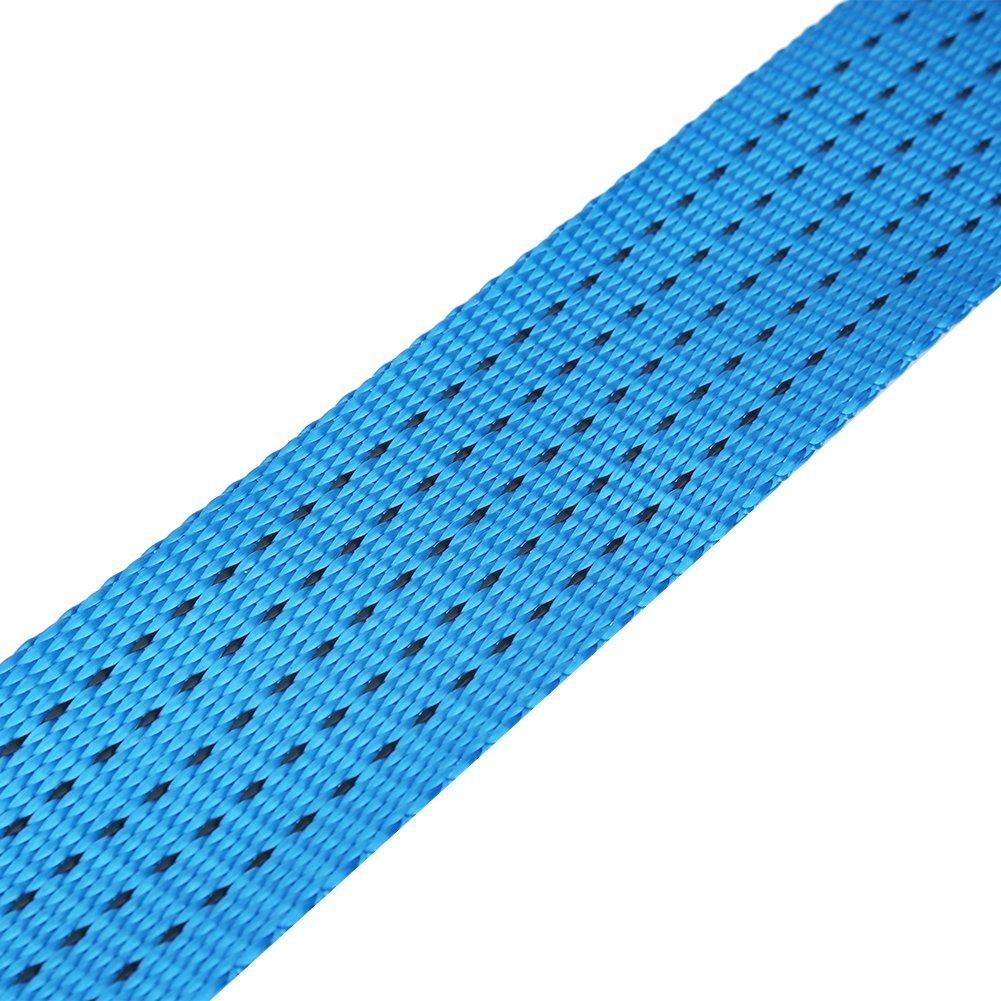 3//5 m/ètres 3meter Sangle de remorquage de r/écup/ération de route de corde de remorquage de corde de remorque de voiture avec des crochets 8 tonnes