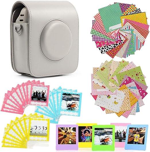 Jinshen Premium Kamera Zubehör Set Für Fujifilm Instax Square Sq20 Mit Kameratasche Bordüre Aufklebern Kunststoffrahmen Foto