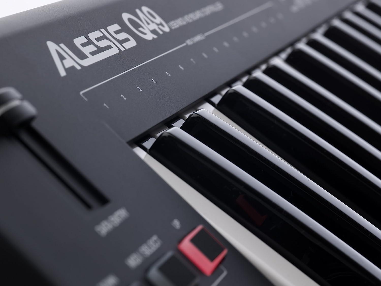 Alesis Q49 - Teclado controlador MIDI USB con 49 teclas ...