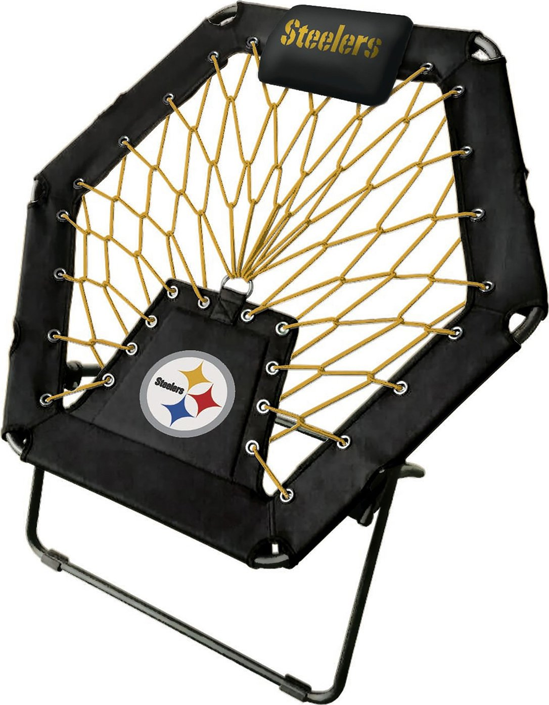 Imperial Officially Licensed NFL Furniture: Premium Bungee Chair, Pittsburgh Steelers by Imperial