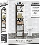 Deluxe Spa Tower 6 Tier Towel & Bathroom Accessory Rack Oil Rubbed Bronze … Metal