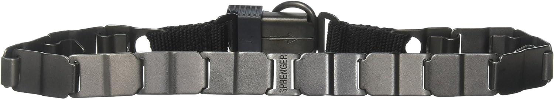 Herm Sprenger Black 24 Neck Tech Training Collar, One Size